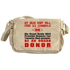 ORGAN DONOR Messenger Bag