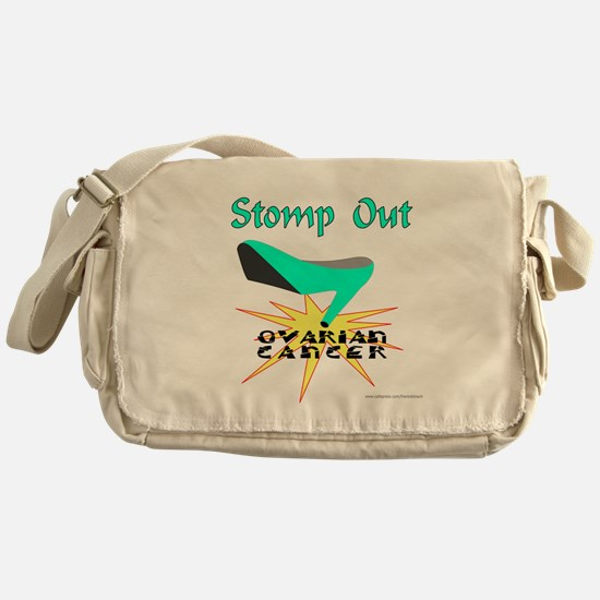 OVARIAN CANCER AWARENESS Messenger Bag