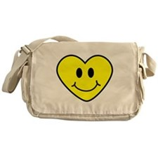 SMILEY HEART Messenger Bag