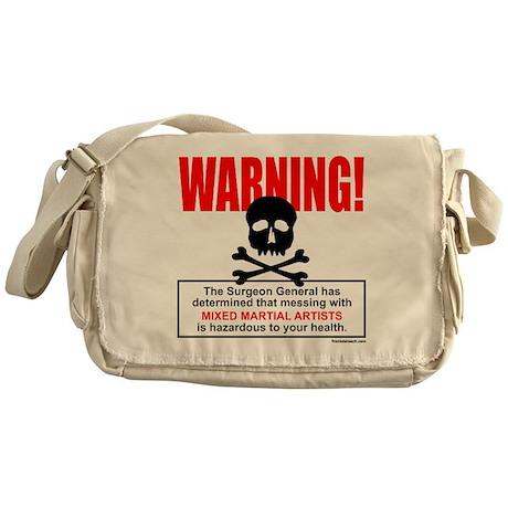 WARNING MMA Messenger Bag