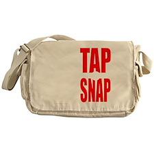 TAP OR SNAP Messenger Bag