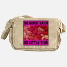 YARN/KNITTING Messenger Bag