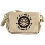 DARTBOARD/DARTS Messenger Bag
