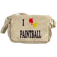 PAINTBALL Messenger Bag
