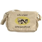 LIFE IS HARD Messenger Bag