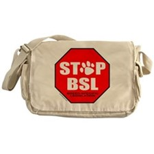 STOP BSL Messenger Bag