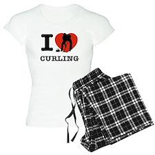 I love Curling Pajamas
