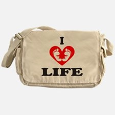 PRO-LIFE/RIGHT TO LIFE Messenger Bag