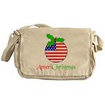 AMERICHRISTMAS Messenger Bag