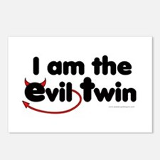I am the Evil Twin Postcards (Package of 8)