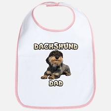 Wirehaired Dachshund Dad Bib