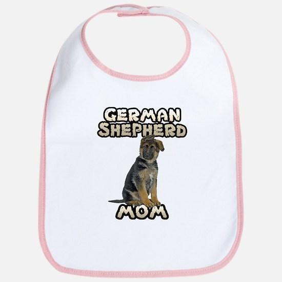 German Shepherd Mom Bib