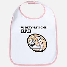 #1 Stay-At-Home Dad Bib