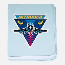 A-6 Intruder baby blanket
