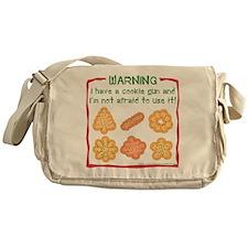 Christmas Cookies Messenger Bag