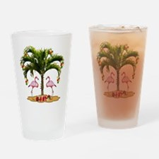 Tropical Holiday Drinking Glass