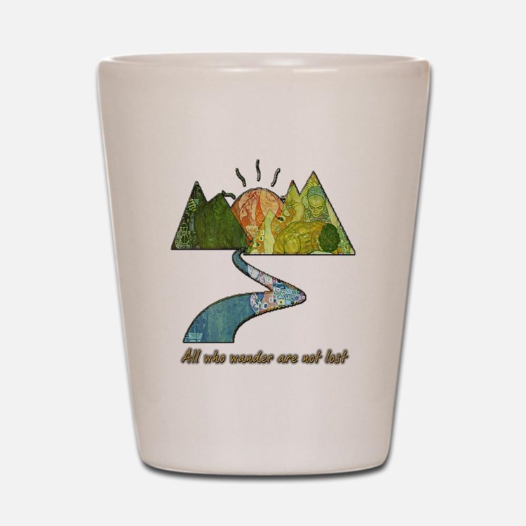 Wander Shot Glass