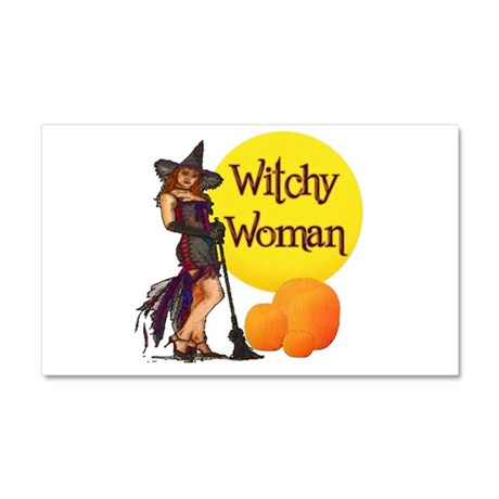Witchy Woman Car Magnet 20 x 12