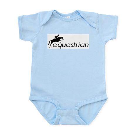 hunter/jumper equestrian Infant Creeper