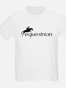 hunter/jumper equestrian Kids T-Shirt