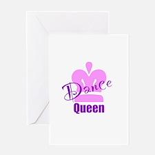 Dance Queen Greeting Card