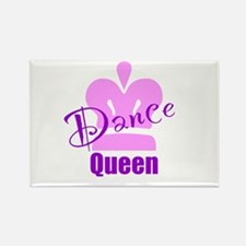 Dance Queen Rectangle Magnet