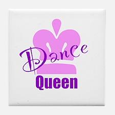 Dance Queen Tile Coaster