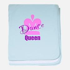 Dance Queen baby blanket