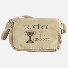 Celtic Brother Groom Messenger Bag