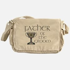 Celtic Father Groom Messenger Bag