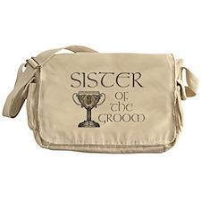 Celtic Sister of Groom Messenger Bag