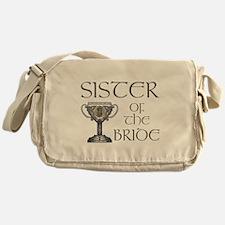 Celtic Sister of Bride Messenger Bag