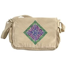 Celtic Watercolor Messenger Bag