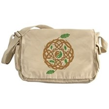 Celtic Nature Yin Yang Messenger Bag