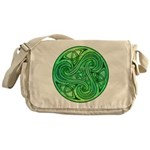Celtic Triskele Messenger Bag