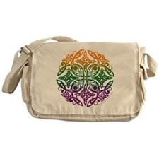 Celtic Mandala Emblem Messenger Bag