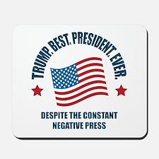 Trump Best Pres Mousepad