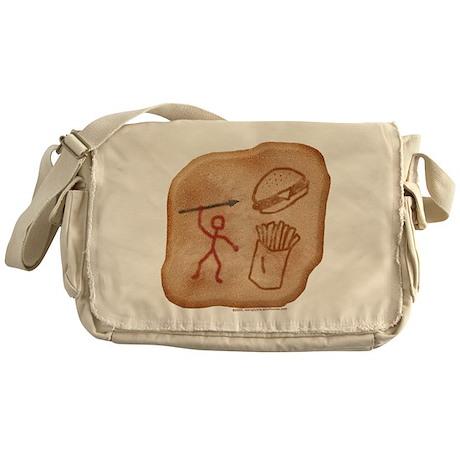 Hunting Dinner Messenger Bag