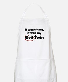 It wasn't me (Evil Twin) BBQ Apron
