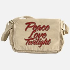 Peace Love Twilight Messenger Bag