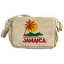 Jamaica Sunset Messenger Bag
