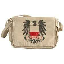 Polska Shield Messenger Bag