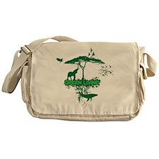 Green Living Messenger Bag