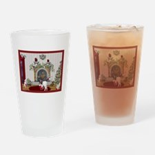 Goat Christmas-Stockings Drinking Glass