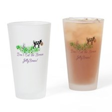 Nigerian-GOAT- Brown JellyBea Drinking Glass