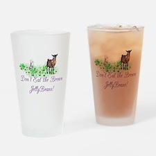 Pygmy-GOAT-Brown JellyBeans Drinking Glass
