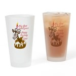 GoatCake Drinking Glass