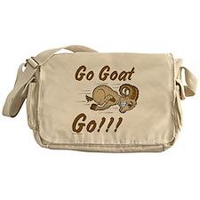 Funny Go Goat GO Messenger Bag