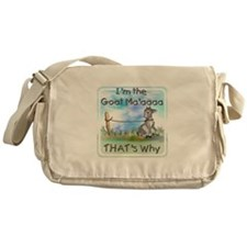 GOAT-That's Why Messenger Bag