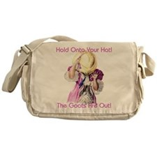 Goats- Hold onto your Hat! Messenger Bag